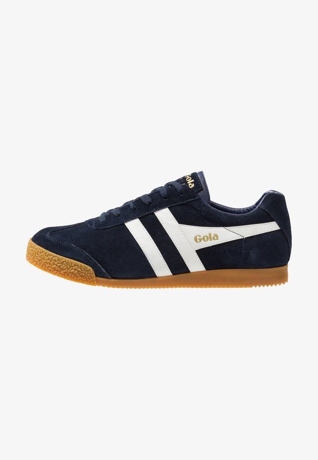 HARRIER - Trainers - navy/white