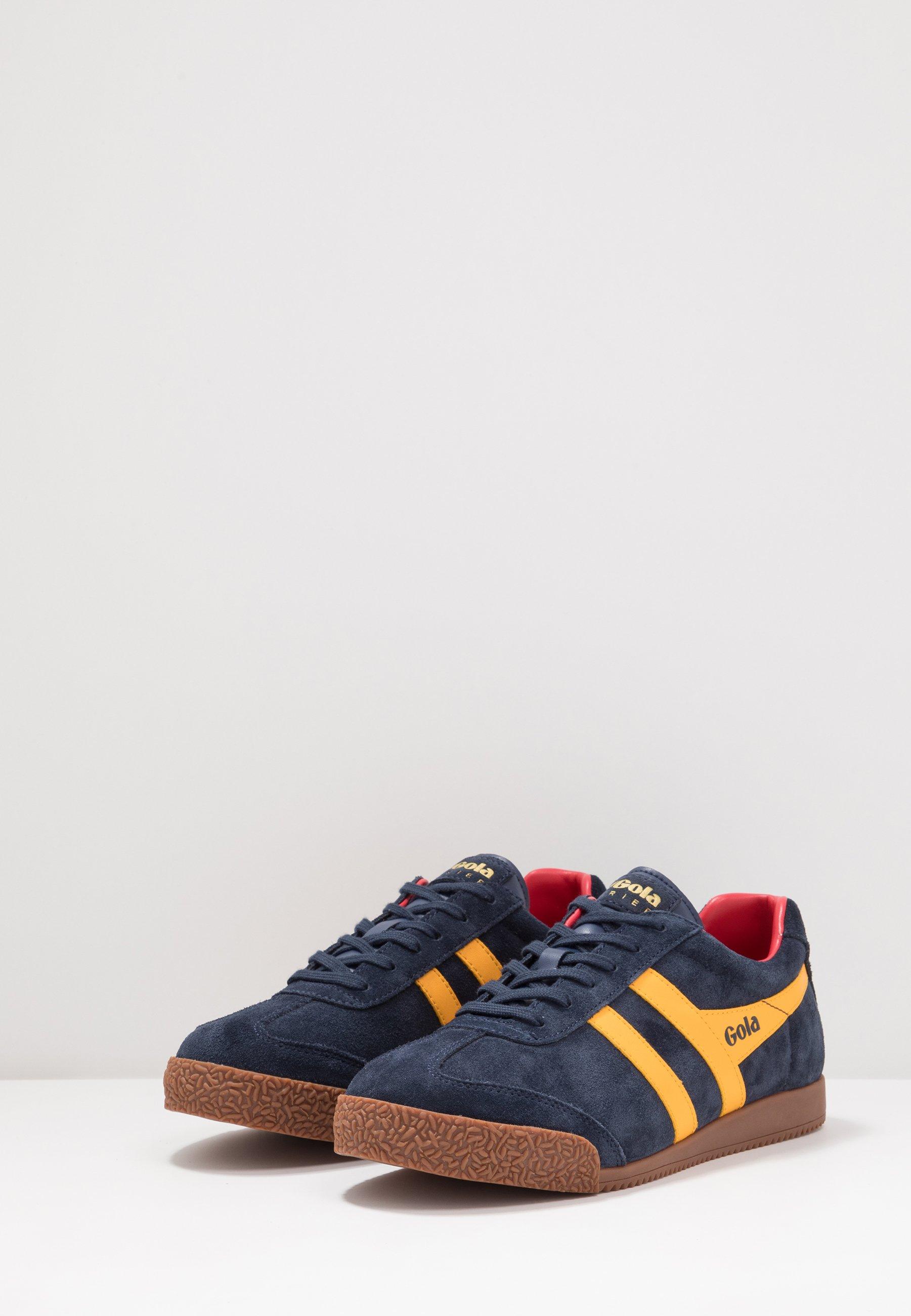 Gola HARRIER - Sneakers - navy/sun/red