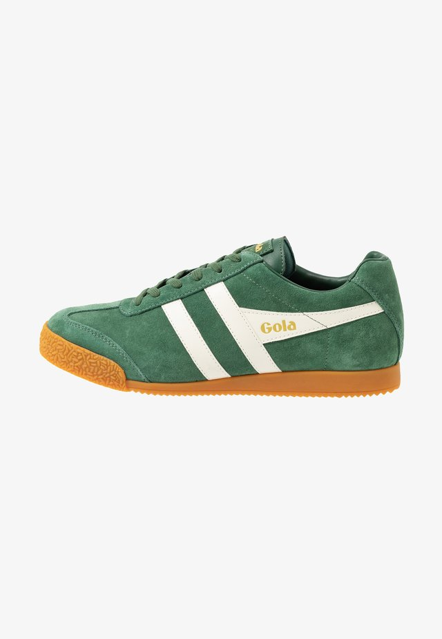 HARRIER - Baskets basses - evergreen/offwhite