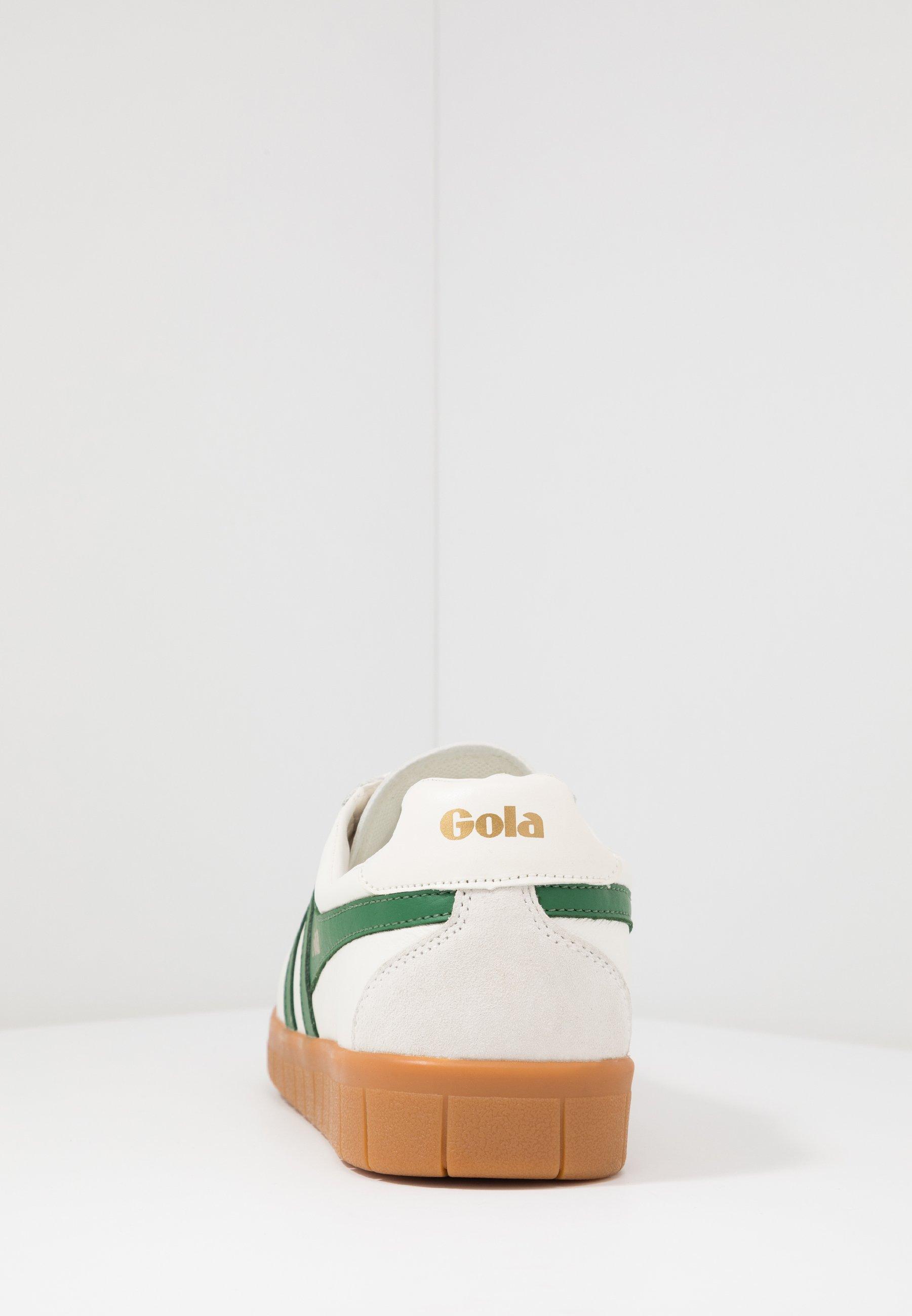 Gola Hurricane - Joggesko Offwhite/green