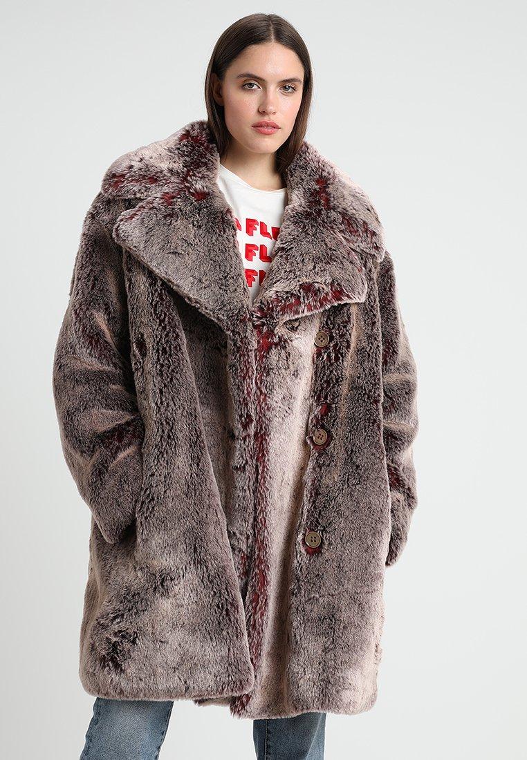 Goosecraft - ANNE COAT - Winter coat - bordeaux grey