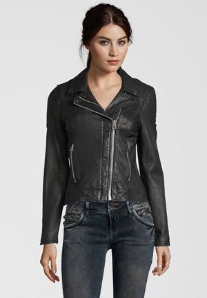 AALIYAH  - Leren jas - black