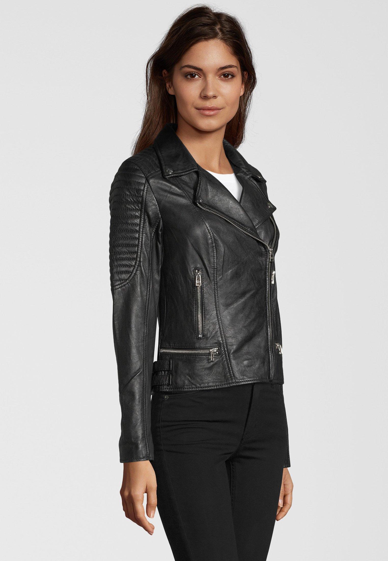 Goosecraft Lederjacke - black | Damenbekleidung billig