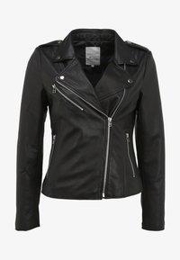 Goosecraft - JULIA BIKER - Leren jas - black - 3