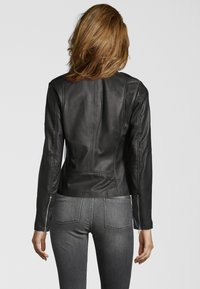 Goosecraft - JULIA BIKER - Leren jas - black - 1
