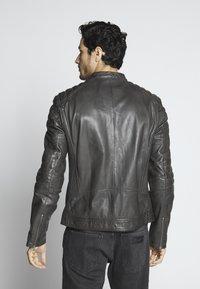 Goosecraft - Leather jacket - caviar - 2