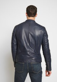 Goosecraft - Veste en cuir - denim blue - 2