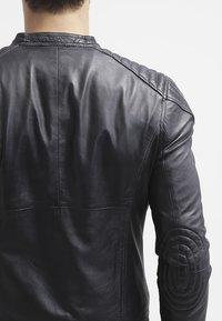 Goosecraft - BIKER - Leren jas - black - 5