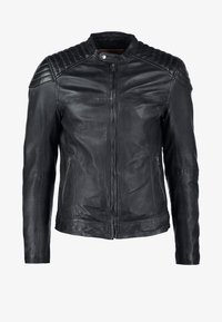 Goosecraft - BIKER - Leren jas - black - 7