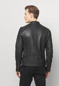 Goosecraft - Leren jas - black - 2