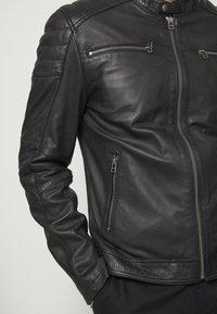 Goosecraft - Leren jas - black - 4