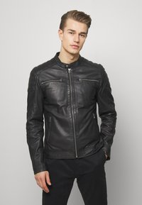 Goosecraft - Leren jas - black - 0