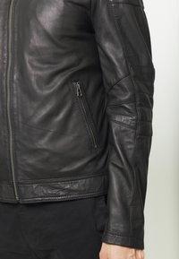 Goosecraft - Leren jas - black - 6
