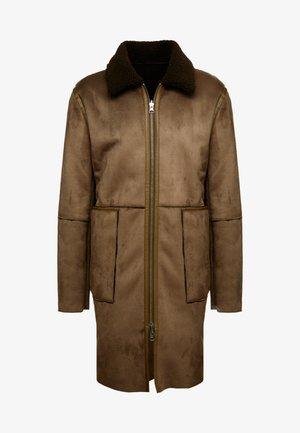 OLIVER COAT - Płaszcz wełniany /Płaszcz klasyczny - woodgreen