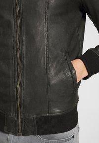 Goosecraft - ZAGREB - Veste en cuir - black - 5