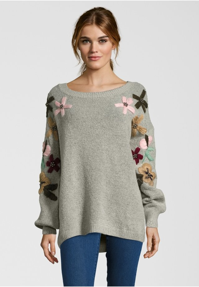 ARMS FLOWERS - Maglione - grey