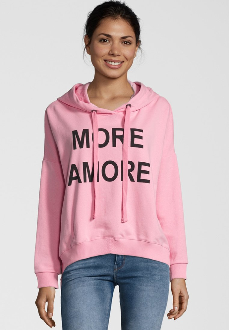 miss goodlife - MORE AMORE - Kapuzenpullover - pink