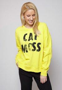 miss goodlife - Sweater - yellow - 0
