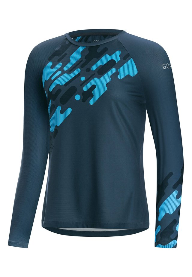 "GORE WEAR DAMEN TRIKOT ""C5 D TRAIL"" LANGARM - Long sleeved top - rauchblau (304)"