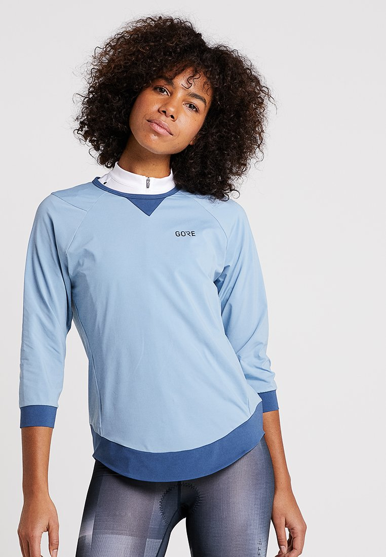 Gore Wear - ALL MOUNTAIN - Camiseta de manga larga - cloudy blue/deep water blue