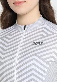 Gore Wear - DAMEN TRIKOT - T-Shirt print - white/light grey - 7