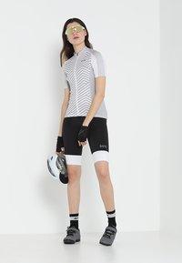 Gore Wear - DAMEN TRIKOT - T-Shirt print - white/light grey - 1