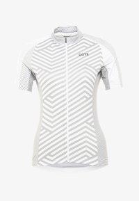 Gore Wear - DAMEN TRIKOT - T-Shirt print - white/light grey - 6