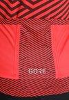Gore Wear - DAMEN TRIKOT - Camiseta estampada - hibiscus pink/chestnut red