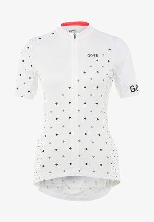 DAMEN TRIKOT - T-Shirt print - white/black
