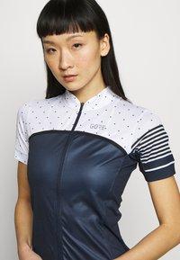 Gore Wear - TRIKOT - T-Shirt print - orbit blue/white - 4
