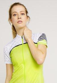 Gore Wear - TRIKOT - T-Shirt print - citrus green/white - 3