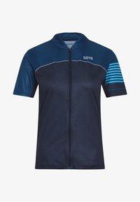 Gore Wear - TRIKOT - T-Shirt print - orbit blue/deep water blue - 5