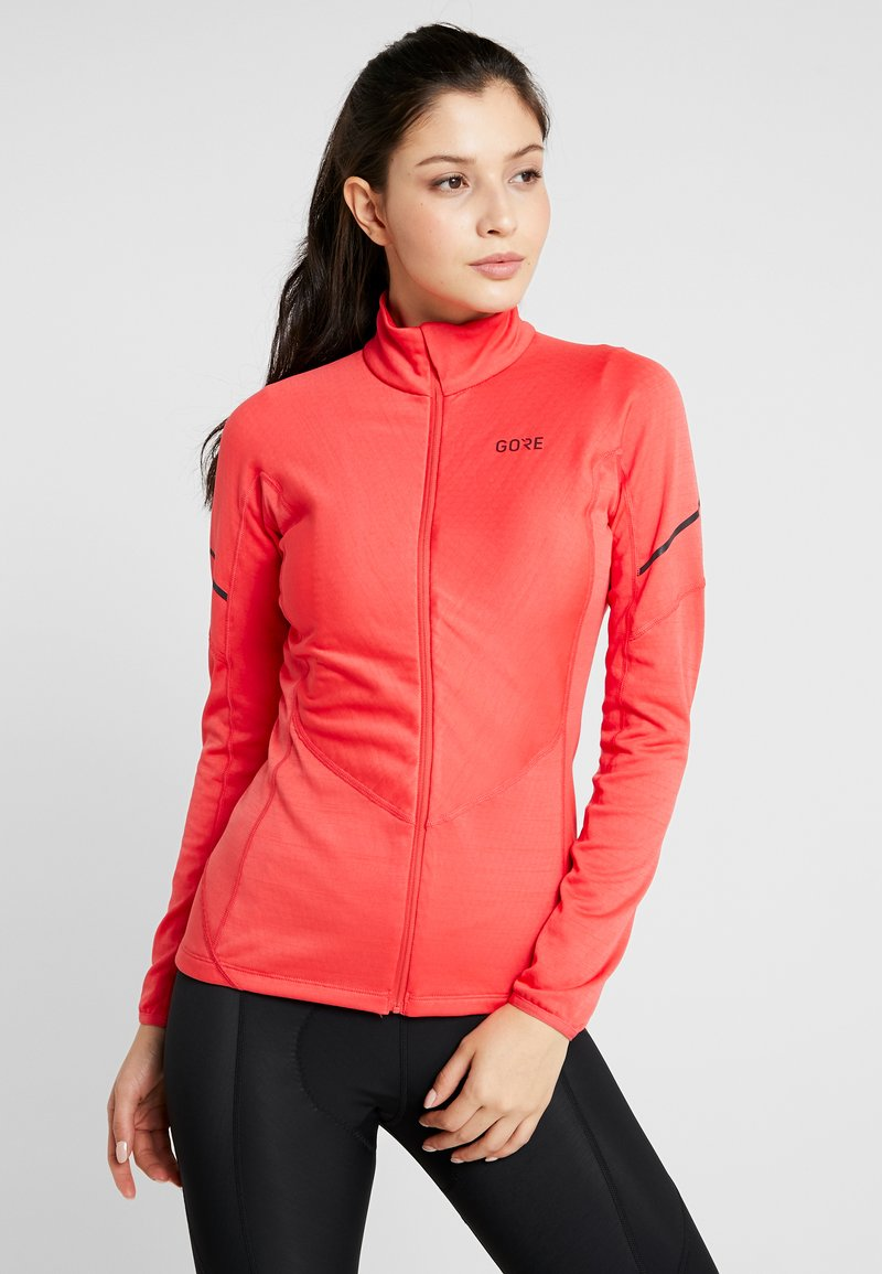 Gore Wear - THERMO ZIP  - Sports shirt - hibiscus pink