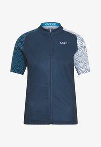 Gore Wear - GORE® C3 DAMEN ONDASIA - T-Shirt print - orbit blue/dynamic cyan - 4