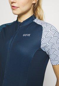 Gore Wear - GORE® C3 DAMEN ONDASIA - T-Shirt print - orbit blue/dynamic cyan - 3