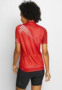 Gore Wear - GORE® C3 DAMEN HEART TRIKOT - T-Shirt print - hibiscus pink/white - 2
