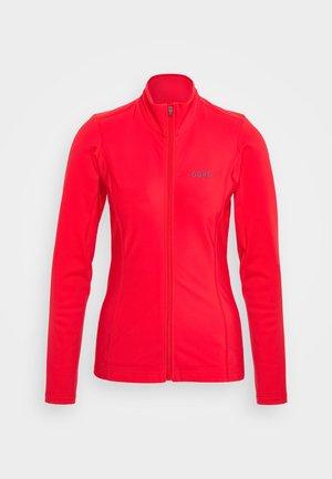 DAMEN THERMO TRIKOT - Fleece jacket - hibiscus pink