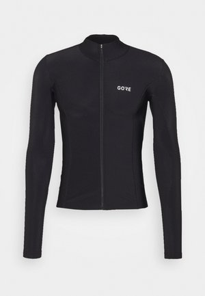 DAMEN THERMO TRIKOT - Fleecejacke - black