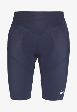 C5 DAMEN KURZ - Collant - orbit blue/white