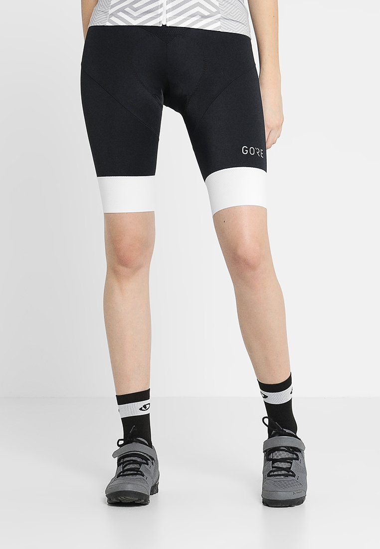 Gore Wear - C5 DAMEN KURZ - Medias - black/white
