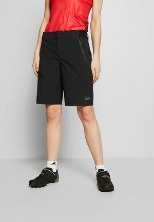 GORE® C5 DAMEN - kurze Sporthose - black