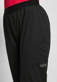 Gore Wear - C5 DAMEN GORE-TEX ACTIVE TRAIL HOSE - Outdoor-Hose - black - 4