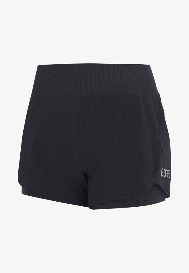 "GORE WEAR DAMEN LAUFSHORTS ""R7 2-IN-1"" - Sports shorts - schwarz (200)"