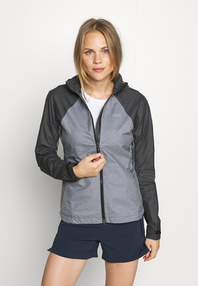 DAMEN TRAIL - Giacca hard shell - terra grey