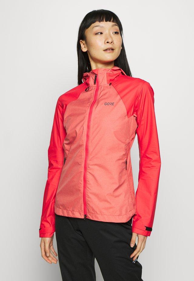 DAMEN TRAIL - Hardshell jacket - hibiscus pink