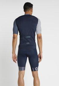 Gore Wear - TRIKOT - T-Shirt print - marine blue/white - 2