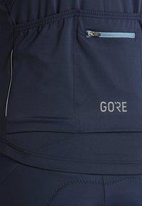 Gore Wear - TRIKOT - T-Shirt print - marine blue/white - 4