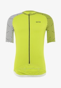 Gore Wear - OPTILINE TRIKOT - T-Shirt print - citrus green/white - 6