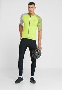 Gore Wear - OPTILINE TRIKOT - T-Shirt print - citrus green/white - 1