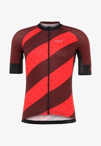 Gore Wear - TRIKOT - T-Shirt print - red/black - 6